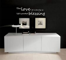 The love of a family   vinyl wall decal