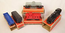 LIONEL POST-WAR SCOUT SET W/#1001 LOCO-SCOUT TENDER & FREIGHTS-VG+ W/BOXES!