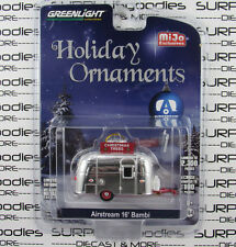 GREENLIGHT 1:64 M&J MiJo Toys AIRSTREAM 16' BAMBI Camper Christmas Ornament