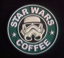 STAR WARS COFFEE GITD GLOW UKSF  PATCH PJ KIFARU PCU rubber pvc