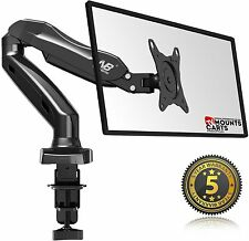 Universal Full Motion Gas-Spring Arm Desk Mount F80 for 17''- 27 inch screens