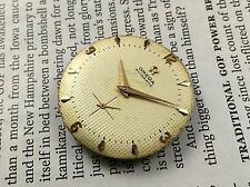 Vintage Rare Omega Cal.344 Bumper automatic dial hands movment no chronograph