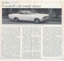 Vauxhall Ventora FD 3300 Road Test 1968-69 Original UK Sales Brochure Victor
