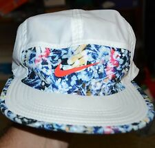 Nike AW84 SOL Jungle Pack White Blue Summer Adjustable Hat Cap 842672-100