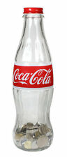 COCA COLA COKE GLASS DISPLAY BOTTLE BANK