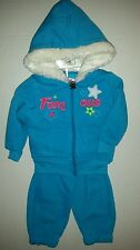 All About Me Girls Famous 2-PC Outfit Fleece Hoodie & Pants Set Size 12 months