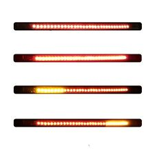 32SMD Motor LED Bar Brake Tail Light & Left/Right Turn Signal Lamp Motorcycle