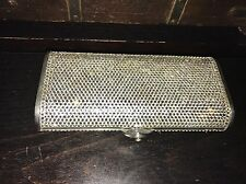 Judith Leiber Silver Crystal Minaudière Clutch Bag With Chain RRP £1,950