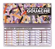Holbein Artists Gouache Opaque Watercolor 24 Colors Set Tube 5ml G705 F/S