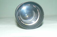Objectif SUPER ALBINAR MC AUTO ZOOM 1:4,5 f= 80-200 mm 52 ° LENS made in Japan