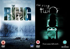 THE RING Complete Part 1 2 Horror  Max Rourke, Elizabeth NEW SEALED UK R2 DVD