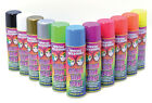 ALL COLOURS FLUORESCENT HAIR SPRAY HALLOWEEN FANCY DRESS PARTY MAKE UP ACCESSORY