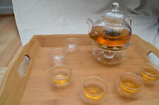 Heat Resistant Glass Teapot Set 800ml