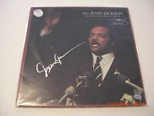 REV. JESSE JACKSON OUR TIME HAS COME MEAD CHASKEY/HOLO SIGNED LP RECORD ALBUM