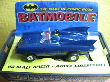 1/64 THUNDERJET 1960s BATMOBILE BLEUE SLOT CAR JOHNNY LIGHTNING