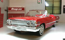 Chevrolet Impala Cabrio 1963 1:24 Scale Welly Diecast Detailed Model Car 22434