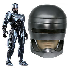Robocop Helmet Movie Cosplay Costume Resin Mask Halloween Adult Props Xcoser