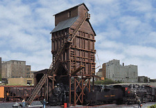 Walthers -HO-#2922         Wood Coaling Tower - Kit