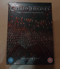 Game of Thrones Complete Seasons 1-4 DVD Free postage