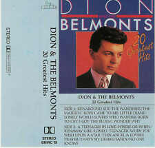 DION & The Belmonts - 20 Greatest Hit / Rares Tape, BR Music, 1985, No.: BRMC 19