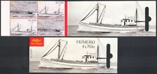 Iceland 2005 Fishing Boats/Sailing/Nautical/Industry/Transport 4v bklt (n39704)