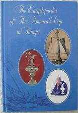 Encyclopedia Of The Americas Cup On Stamps Hardcover Book and Solomon Is  #570-5