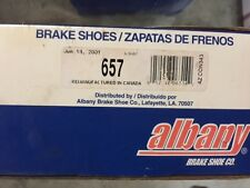 657 Albany Brake Shoes (NEW)