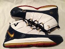 Nike Lebron 3 Alternate Blue Remix Lebron III Sz 11.5 Lebron Promo Sample