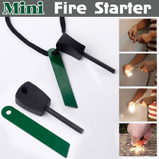 Camping Survival Magnesium Flint And Steel Striker Fire Starter Lighter Stick