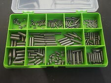 270 ASSORTITI M3, M4 & M5 Allen Socket Set / estirpare le viti. A2-70 in acciaio inox.