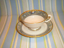 AUTUMN CUP AND SAUCER, LENOX, FIRST QUALITY, LOW STYLE, LOVELY,TRIMMED IN GOLD