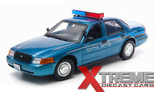 "GREENLIGHT 12864 1:18 2008 FORD CROWN VICTORIA ""TWILIGHT MOVIE"" FORKS POLICE CAR"