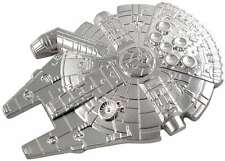 Star Wars Millennium Falcon Metal Belt Buckle, Unused