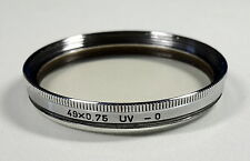 Filtro UV/filtro/filtre 49x0.75 - 203172