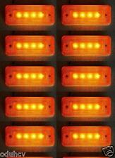 10x 24V NARANJA INTERMITENTE LATERAL 4 luces LED LUZ CHASIS DE REMOLQUE