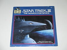 "7""/STAR TREK III/THE SEARCH FOR SPOCK/463/Read Along SEALED NEU NEW MEGARAR"