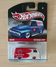 HOT WHEELS DELIVERY  SLICK RIDES '66 DODGE A 100 REAL RIDERS 1/64