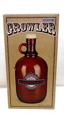 BARBUZZO GROWLER #UTU-3-BR-0058 HEAVY DUTY 1/2 GALLON GLASS JUG WITH CORK TOPPER