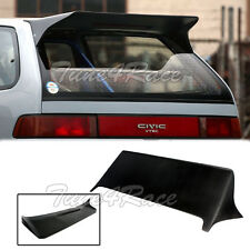 88-91 Civic J Style Rear Roof Spoiler Wing FRP 3Dr Hatchback Body Kit EF9