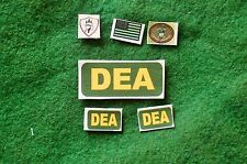 1/6 US Afghanistan DEA special forces ISAF patches