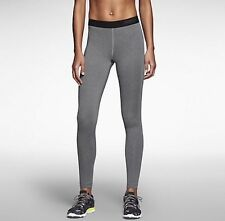 Women's Nike Pro Warm 3.0 Training Tights Grey 620446-091 Size Small $50