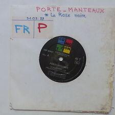 PORTE MENTAUX La rose noire / plus d amour CMT 80021 PROMO