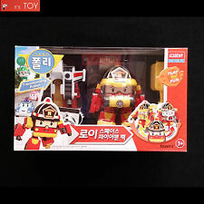 Robocar Poli Roy Space Fireman Pack Transformer Transforming Figure Toy Set 2016