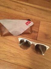 Ray ban club master blanc écailles de tortue lunettes de soleil