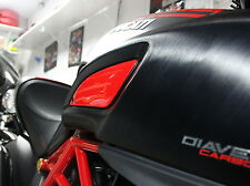 Ducati DIAVEL CARBON TITANIUM AMG Red Tank sides trim  pad protector stickers