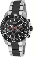 Invicta 19844 48mm Pro Diver Chronograph Tachymeter Stainless Steel Mens Watch