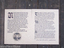 Book of Shadows Spells Pages (2) TRADITIONAL WITCHCRAFT REDE RARE POWERFUL CHANT
