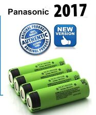 4 x Genuine Panasonic  NCR18650B 18650 3400mAh Rechargeable Battery  Li-ion UK /