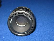 Nikon AF Nikkor 50mm 1:1 .8 D focale fissa Nikon DSLR SLR Camera Lens