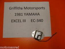 81 82 83 84 YAMAHA EXCEL 3 III EC ES 340 voltage rectifier 12v nice exciter 440